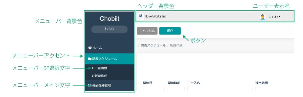 chobiit_画面カラー