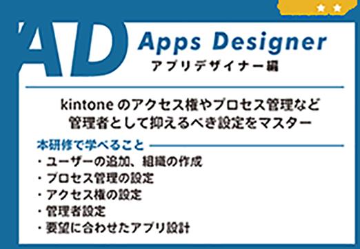 kintone universityアプリデザイナー編