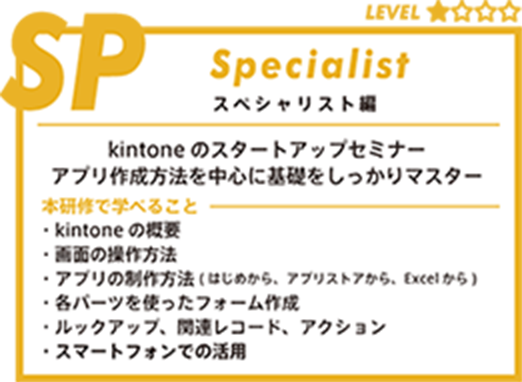 kintone universityスペシャリスト編